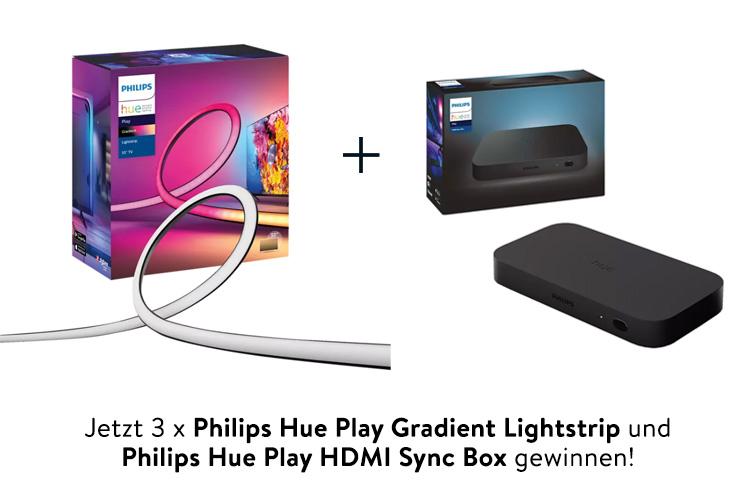 Philips Hue Play Gradient Lightstrip gewinnen